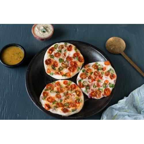 Onion Tomato Uttappam